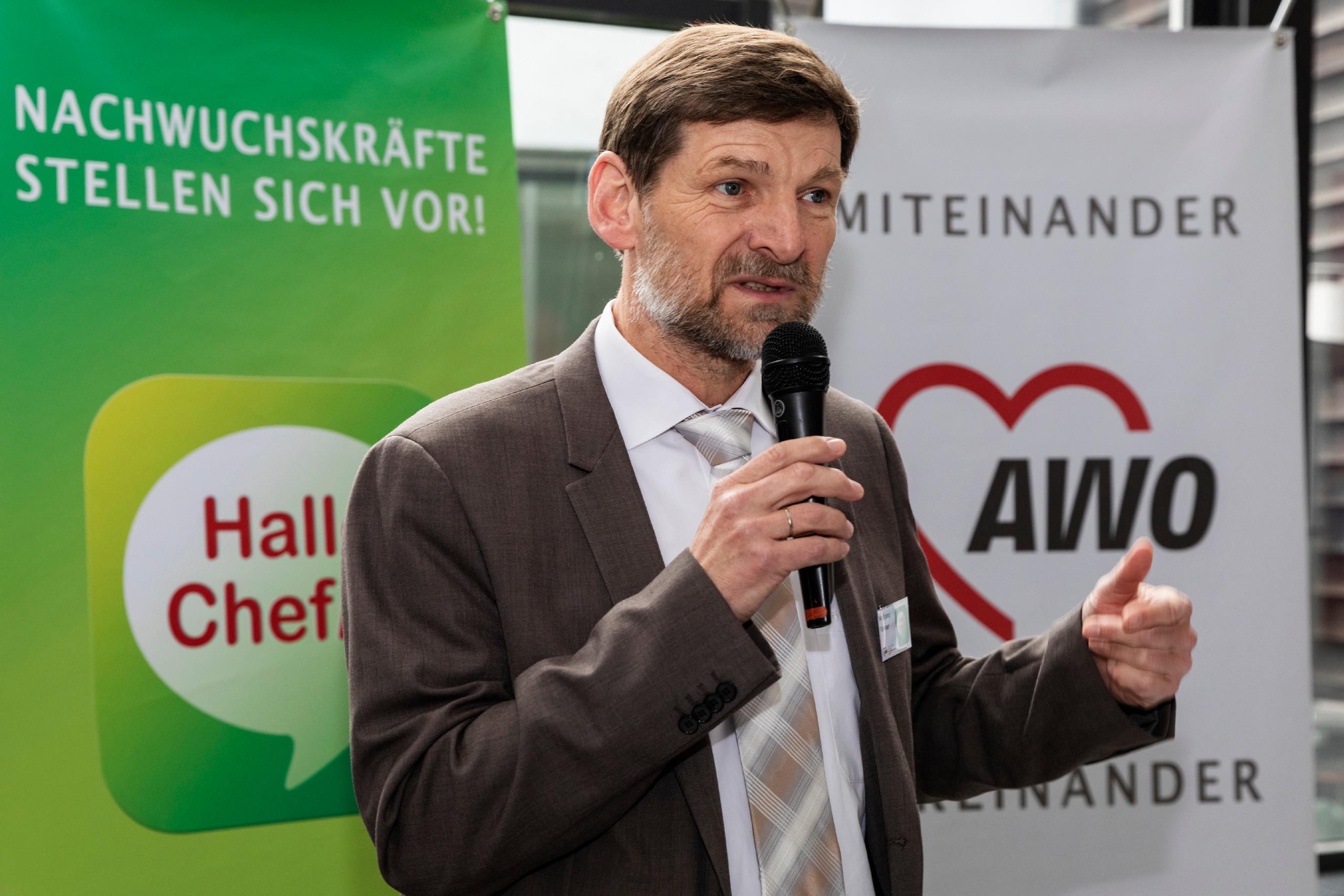 Geschäftsführer Wolfgang Förster